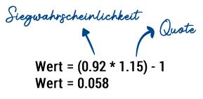 Value Berechnung Over/Under